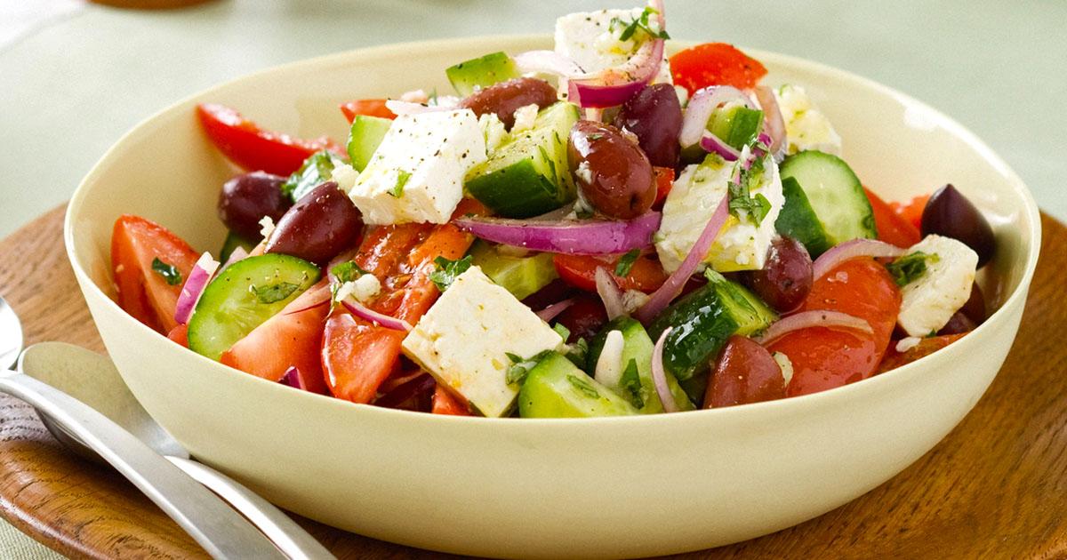 Abetrom recipes - Greek Salad - Original image from taste.com.au